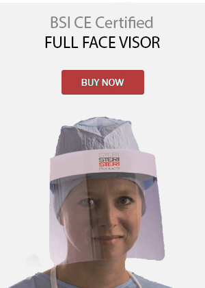 BSI CE Certified Full Face Visor