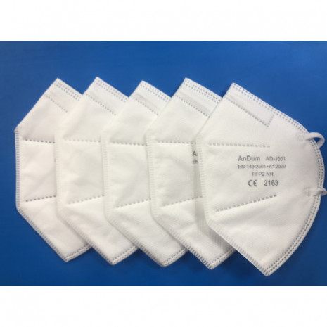 Disposable FFP2 5 Layer Face Mask(Pack of 5)