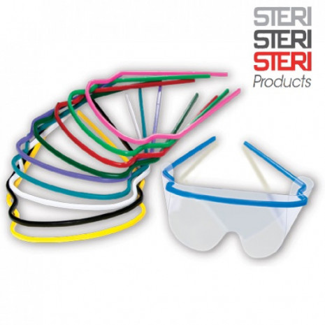 Eye Shields and Reusable Frames (10 frames / 20 shields)