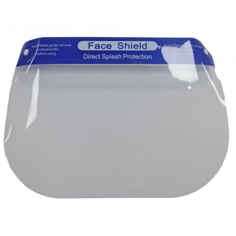 Disposable Full Face Visor - Blue